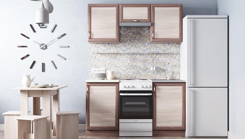 Кухонный гарнитур Легенда 25 (1м)