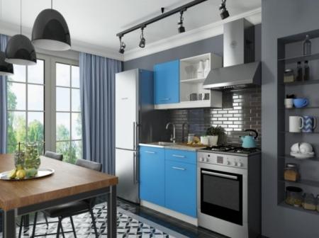 Кухня София мини 1 синий