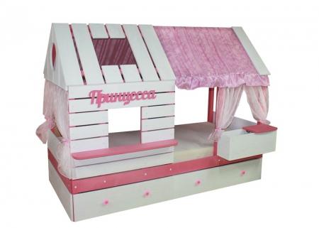 "Домик-кроватка ""Принцесса"""