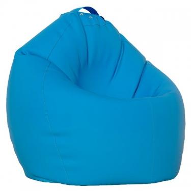 Большой кресло-мешок XL голубой