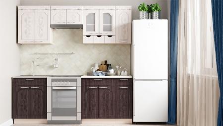 Кухонный гарнитур Легенда 4 (1,5м)