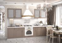 Кухонный гарнитур Мадена дуб ваниль 1,6 метра