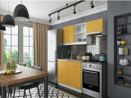 Кухонный гарнитур София мини 2 манго