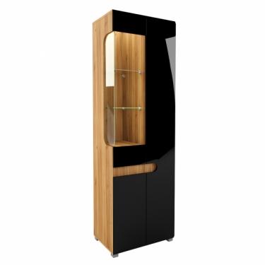 Шкаф с витриной левый 026-01