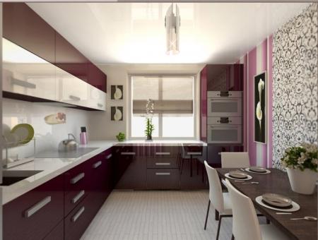 Кухня Дюна Бордо