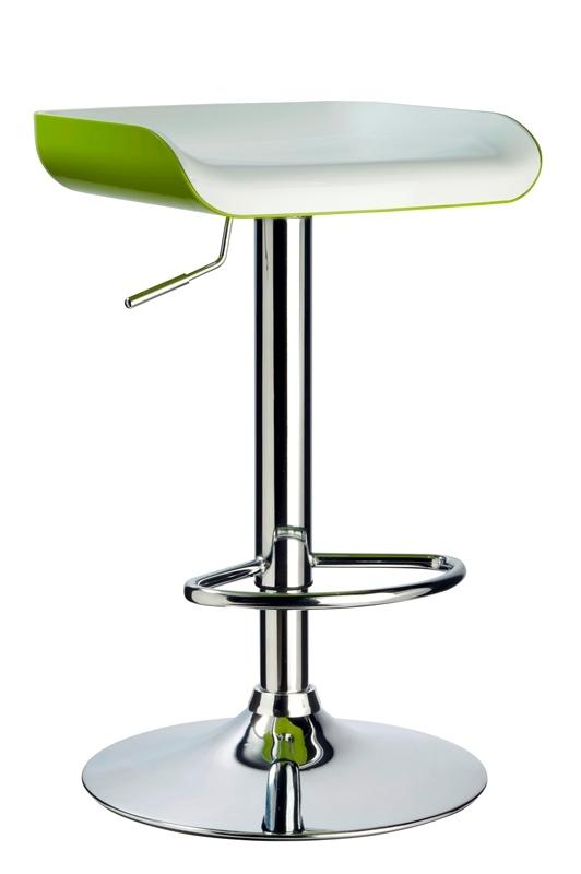 Стул WY 199A белый с зеленым