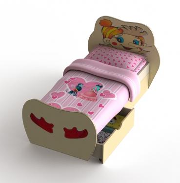 Детская кровать Буратино