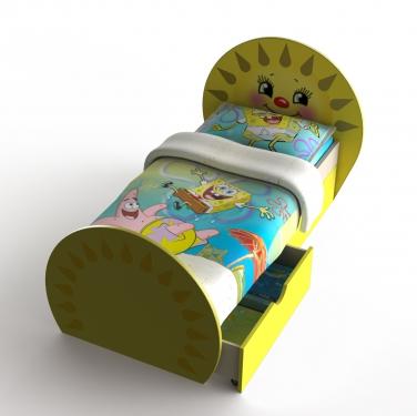 Детская кровать Солнышко