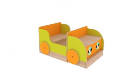 Машина игровая с ящиком для игрушек