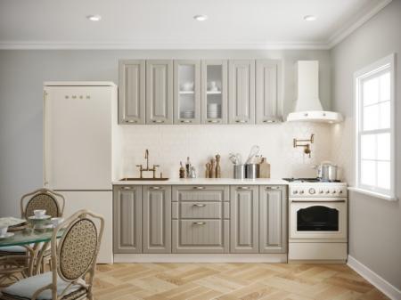 Кухонный гарнитур Кантри 1,8 м имбирь