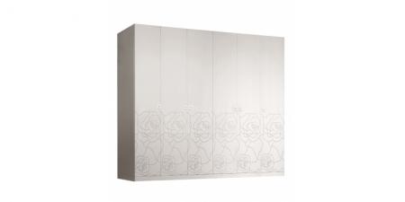 Шкаф 6-створчатый без зеркал Роза