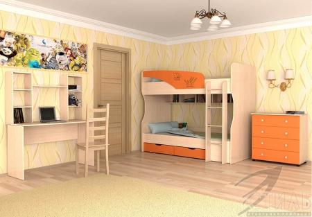 Кровать двухярусная Юниор 4