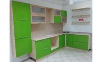 Кухонный гарнитур Зеленое яблоко (угл)