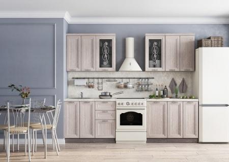 Кухонный гарнитур Легенда 34 (2м)